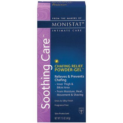 What?? They say this works as a face primer and helps if you have acne. Use instead of the expensive Smashbox brand. Monistat Soothing Care Chafing Relief Powder-Gel