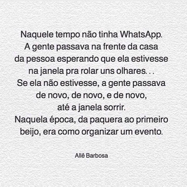 Nostalgia… #regram @allebarbosza #frases #saudades #velhostempos #nostalgia #allebarbosa