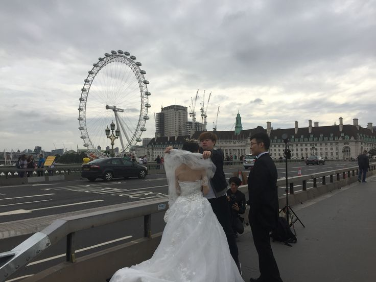Romantic view on Westminster Bridge (Photos by Henry Boateng)