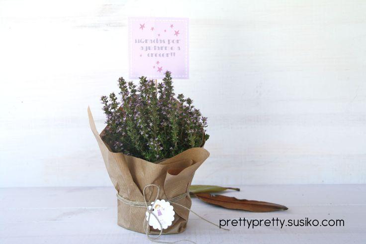 Gracias por ayudarme a crecer, regala una planta a la profesora