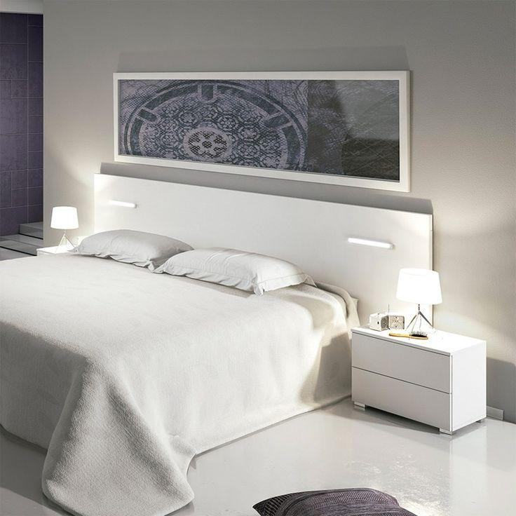 Decoraci n cabecero de cama habitaci n cuadros for Espejos decoracion interiores