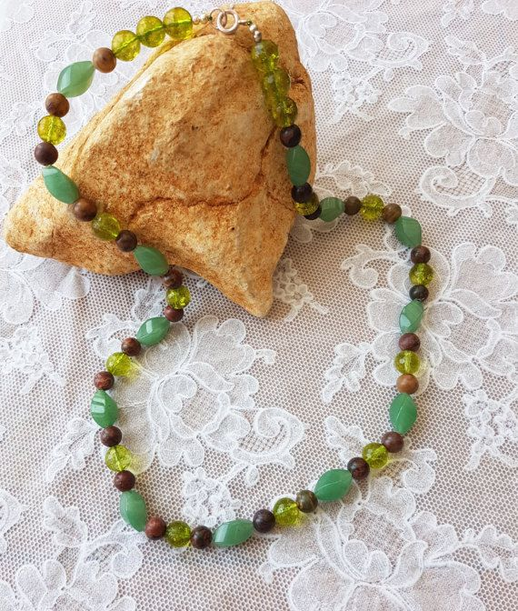Hey, I found this really awesome Etsy listing at https://www.etsy.com/uk/listing/496559224/peridot-necklace-aventurine-necklace