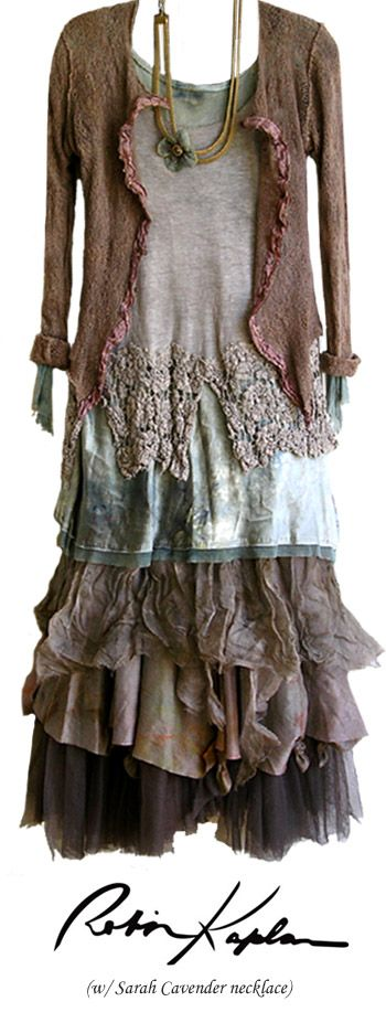 Robin Kaplan - Interesting style. Wonder where I would wear it?