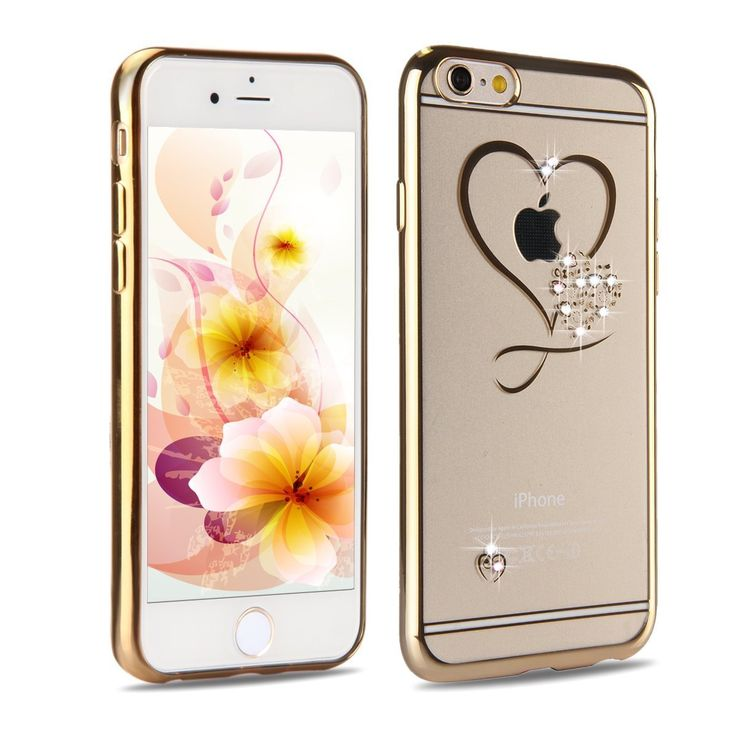 UCLL Iphone 6 Case, Clear Rubber Case for Iphone 6s, TPU Soft Silicone Bumper Case Cover for iPhone 6/6S with Anti-dust Plug. Compatible with Apple iPhone 6 / 6S (4.7'' screen). Made with durable lightweight polycarbonate plastic, using electroplating tec