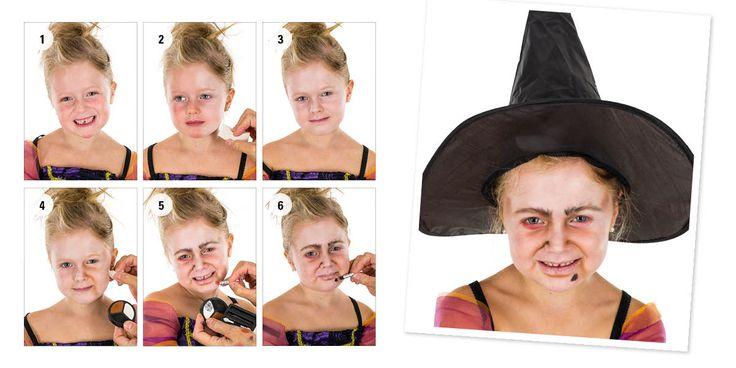 Ansiktsmaling - Halloween