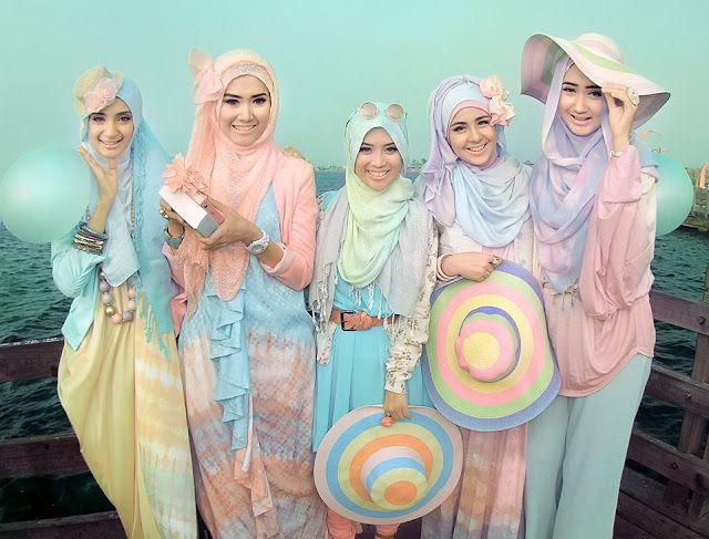 Memilih Jilbab Berdasarkan Bentuk Wajah - Dian Pelangi