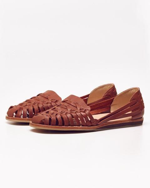 Ecuador Huarache Sandal Burnt Sienna