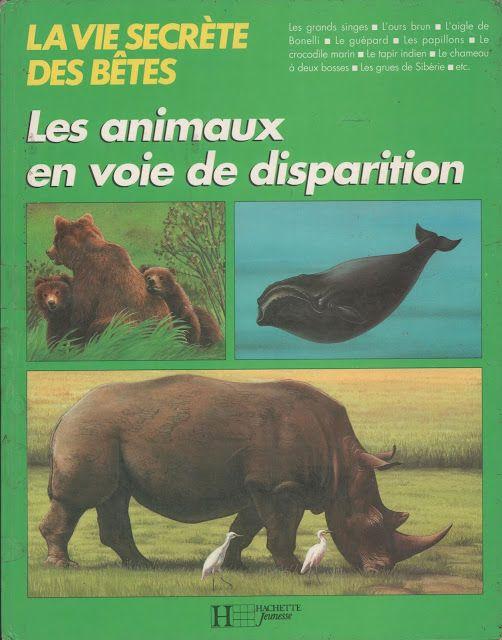 Pariselle, Les animaux en voie de disparition (1991)