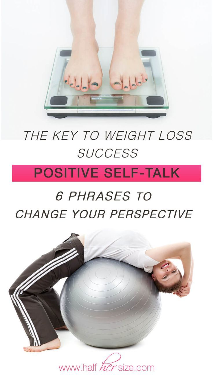 Positive Self-Talk For Rapid Weight Loss!