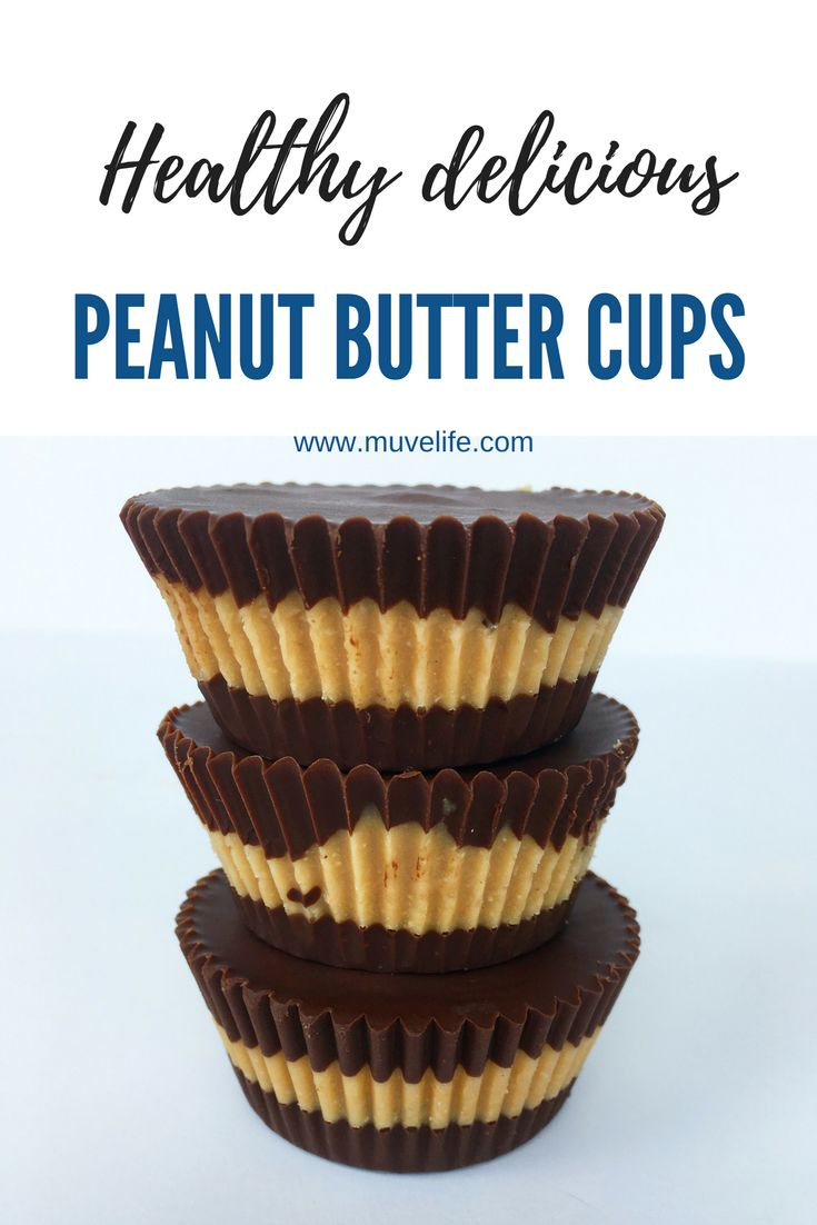 Healthy delicious melt in your mouth peanut butter cups. So simple to make and refined sugar free. Made with real food.