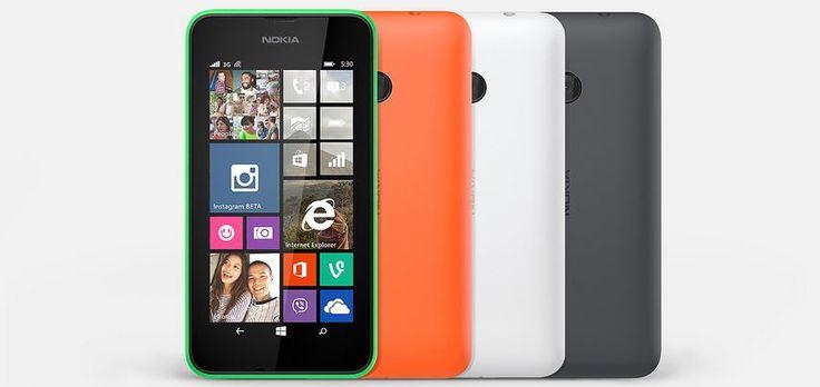Bütçe Dostu Nokia Lumia 530 Tanıtıldı #ecanblog