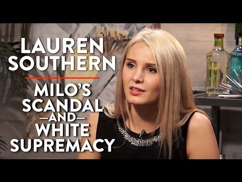 Lauren Southern on Milo's Scandal and White Supremacy (Pt. 1) - YouTube
