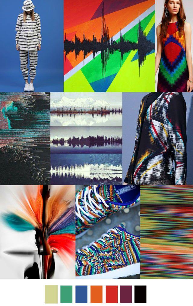 #PatternCurator on #WeConnectFashion, Soundwaves # ...