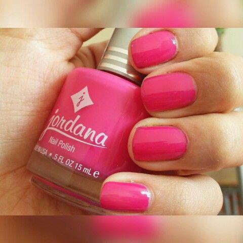 Pink Lemomade de Jordana, son muy buenos estos esmaltes