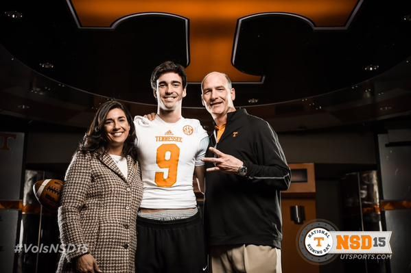 Zac Jancek from Knoxville TN #VolsNSD15 - Tennessee Volunteers National Signing Day