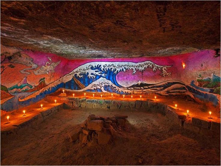 L' Art underground à Paris  se cache dans les catacombes