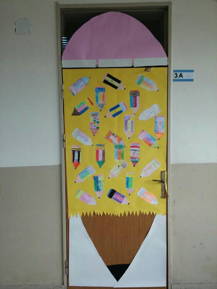 3A sınıf kapısı
