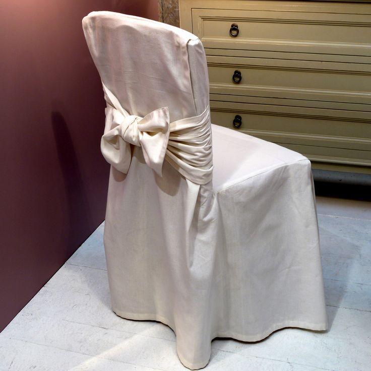 Les 25 meilleures id es concernant housses de si ge sur pinterest housses d - Becquet housse de chaise ...
