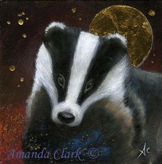 The Badger by Amanda Clark