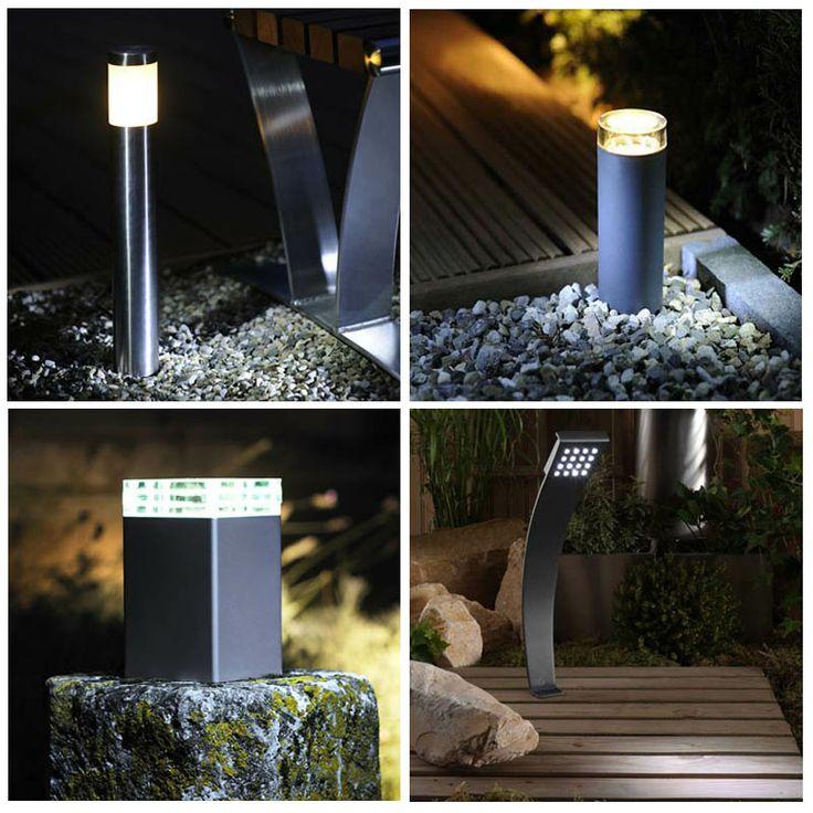 Illuminare un giardino o un terrazzo e creare un ambiente d'effetto.