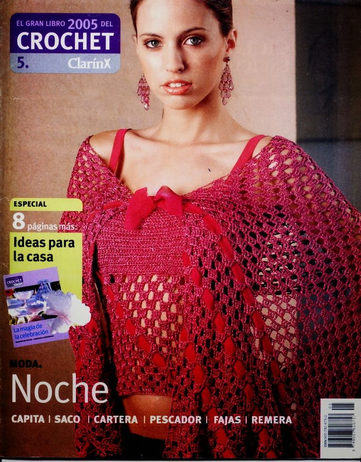 M?s de 1000 im?genes sobre Crochet Magazines en Pinterest Patrones ...