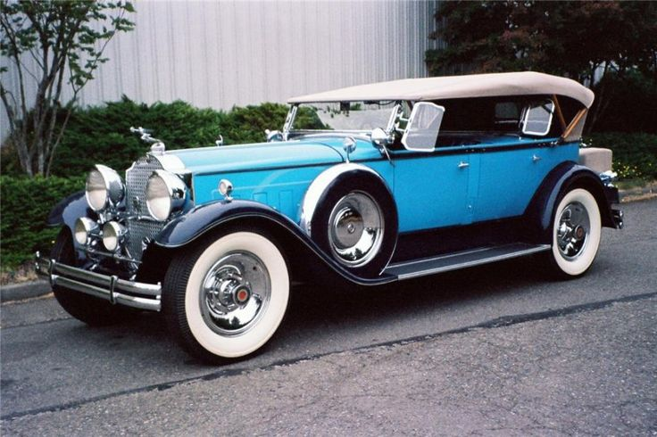 """This 1930 Packard Custom Eight was once owned by Robert Gottlieb, the collector who coined the term """"classic car"""" in Motor Trend Magazine in the 1950s"""