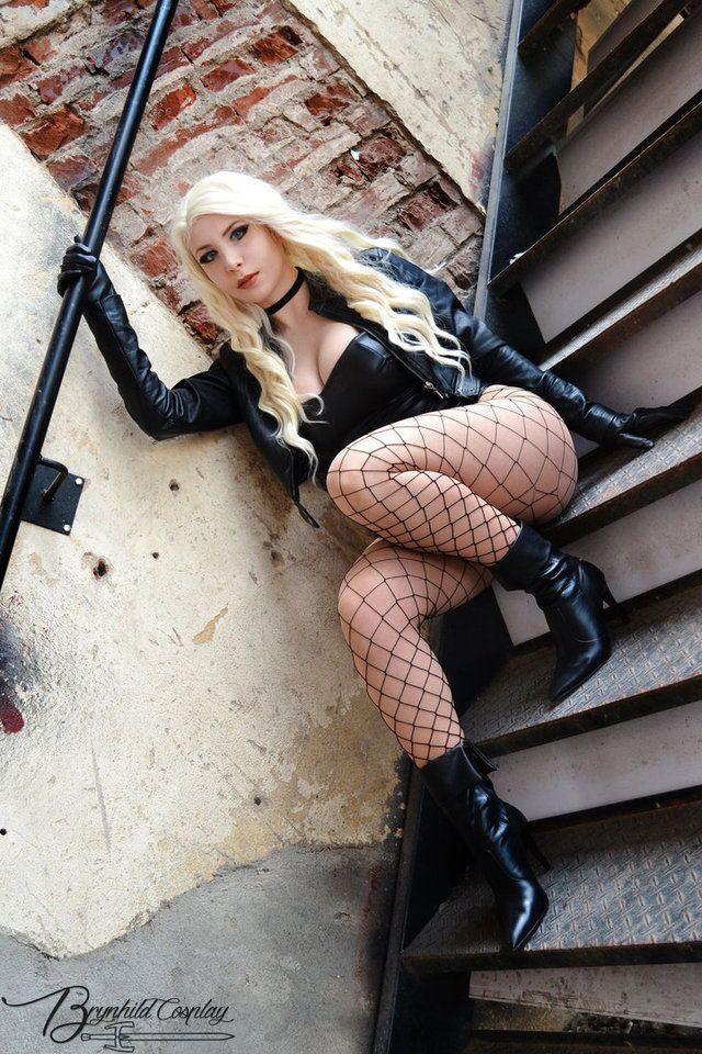 Sexy Black Canary Cosplay by elenasamko on DeviantArt