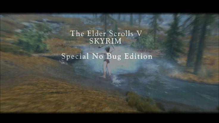 The Elder Scrolls V: Skyrim - Trailer Special No Bug Edition #games #Skyrim #elderscrolls #BE3 #gaming #videogames #Concours #NGC