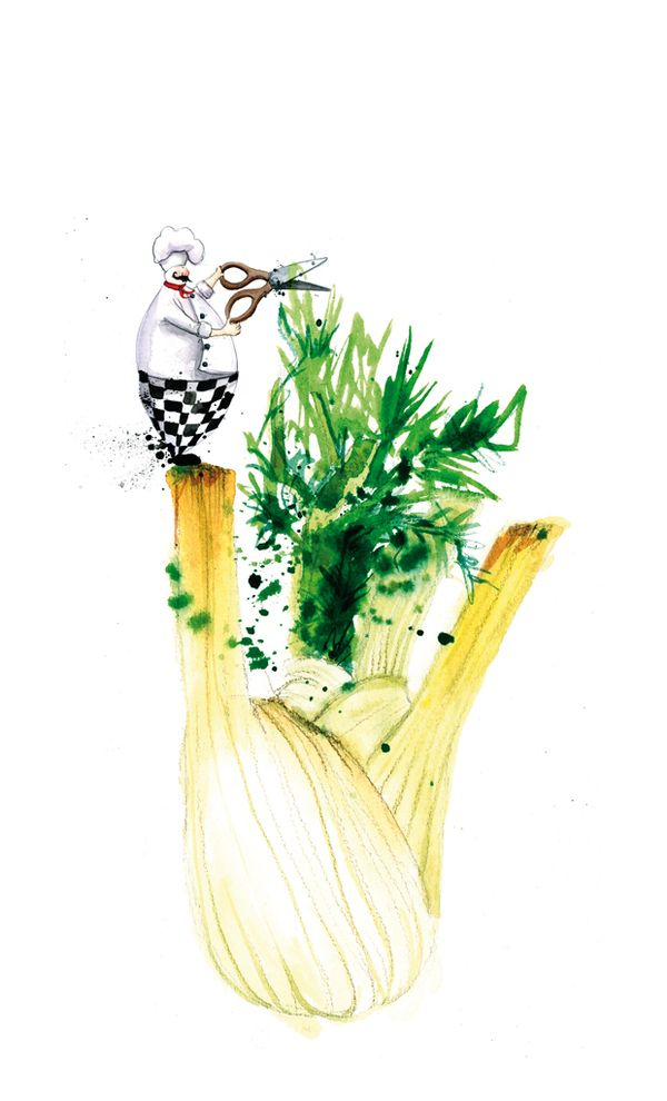 Food illustrations by Georgina Luck