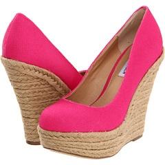 Steve Madden - Pammyy: Style, Pink Wedges, Summer Shoes, Steve Madden, Closet, Stevemadden, Madden Wedges