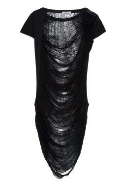 ChrisP by Chris Milonas Totalee - Terry Ripped Dress _ Fashionnoiz.com #fashionnoiz