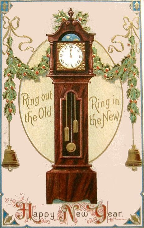 Ring out the Old, Ring in the New.: