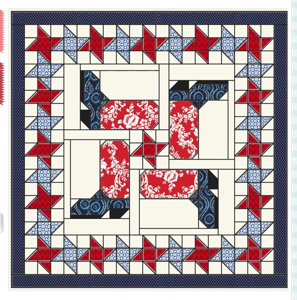 Ben's Boots quilt pattern~ Darling!