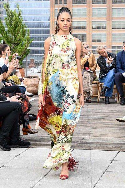 d5766967778 Oscar de la Renta Spring 2019 Ready-to-Wear Fashion Show in 2018 ...