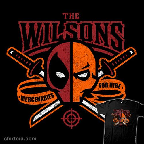 The Wilsons #Deadpool #Deathstroke