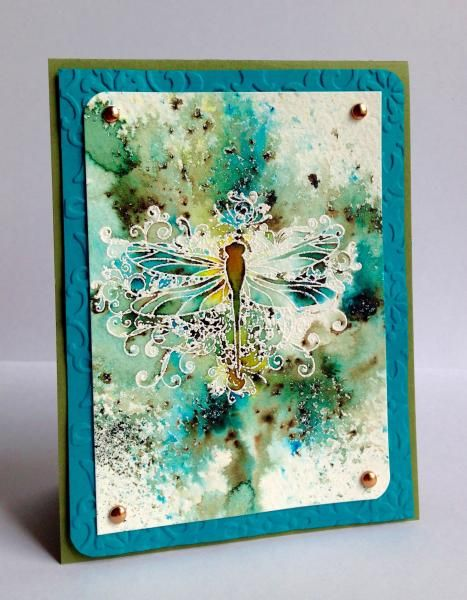 Bisters Dragonfly by Luv Flowers - Cards and Paper Crafts at Splitcoaststampers
