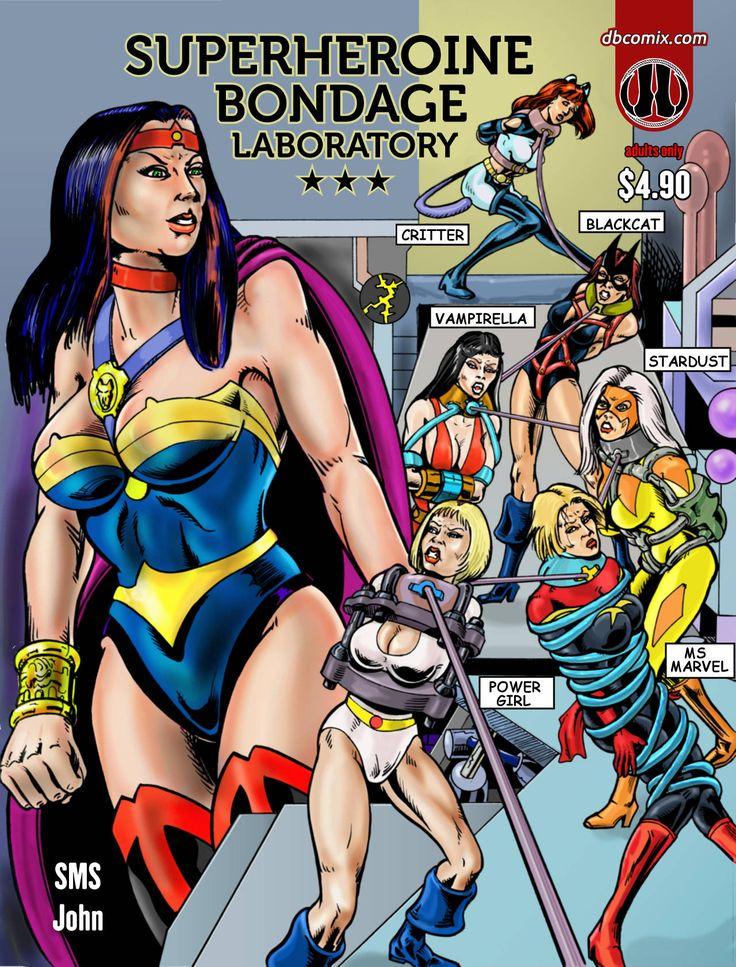 Super heroines bondage