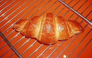 croissant con la macchina del pane