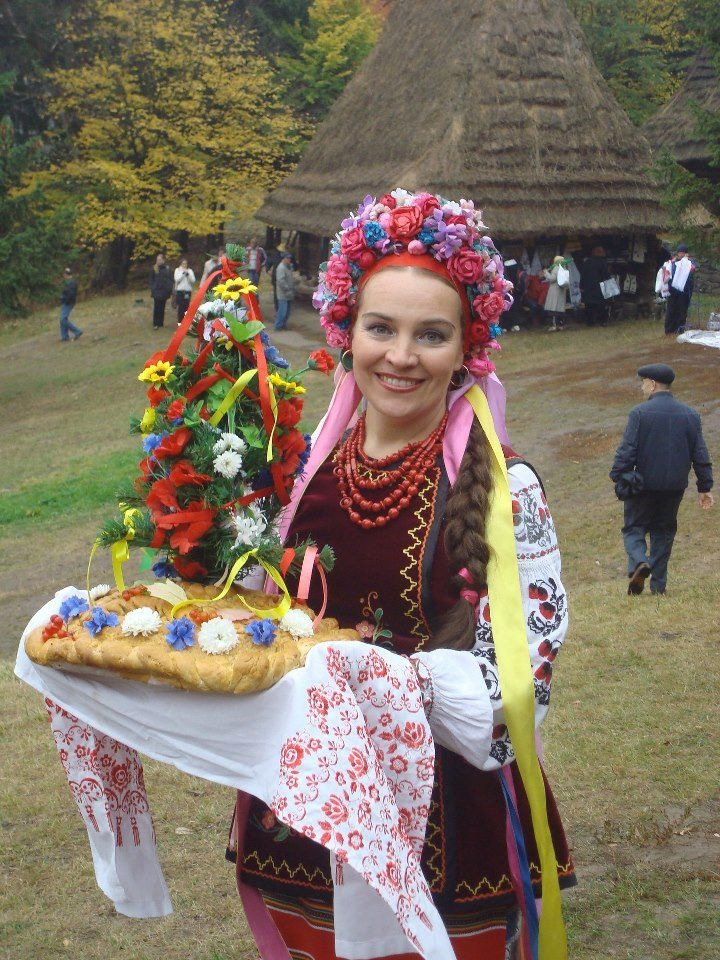 "Traditional Ukrainian ""Wedding  Bread"", from Iryna with love"