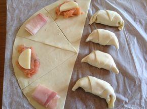 Cornetti di pasta sfoglia salati | Kikakitchen