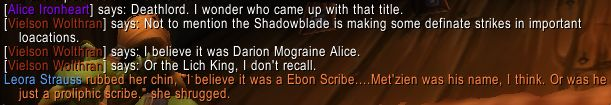 Seen on a roleplay server. #worldofwarcraft #blizzard #Hearthstone #wow #Warcraft #BlizzardCS #gaming
