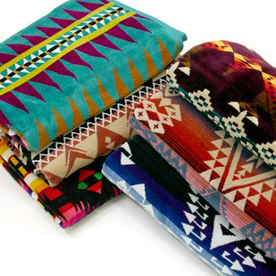 Pendleton Towels! Large and Lovely.