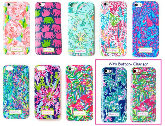 Finally a phone case that is pretty AND actually keeps your phone safe! It's made of soft plastic to help protect the phone. The vinyl