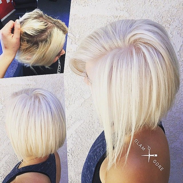 The most beautiful platinum blonde in all of the land! #scwartzkopf bleach and toned with a personalized ...