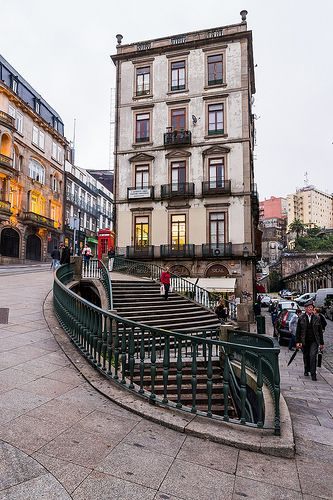 #Porto, old districts near the Douro banks, #Portugal by nuno_cruz, via Flickr