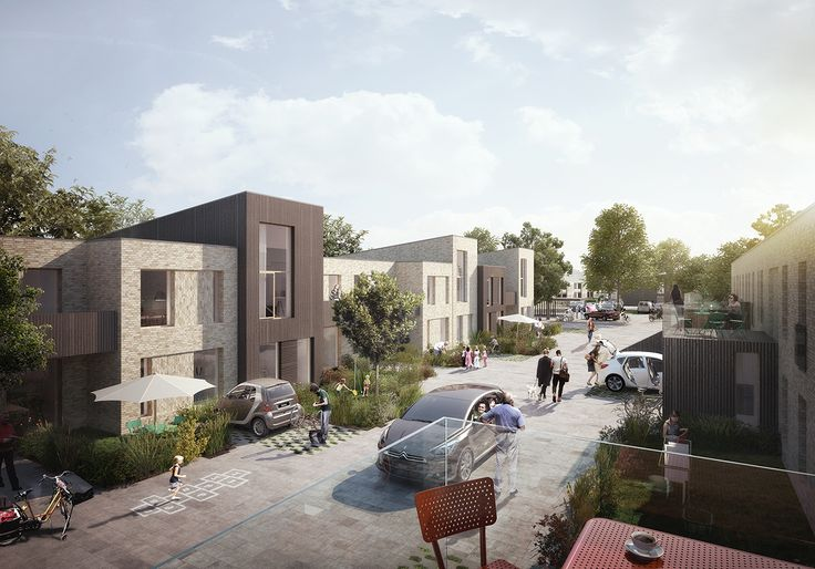 Refurbishment project. Apartment Complex with focus on social sustainability