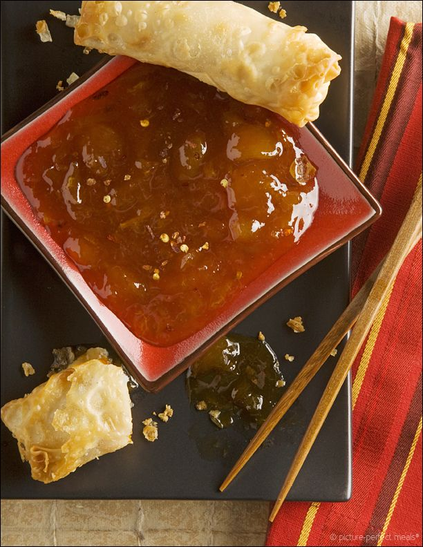 Homemade Duck Sauce - the solution to never having enough of those tiny packets that the Chinese take-out place inevitably skimps on.
