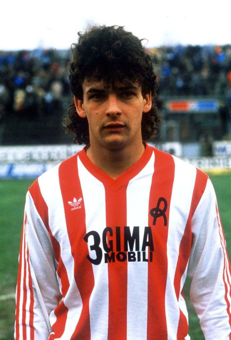 young ROBERTO BAGGIO vicenza