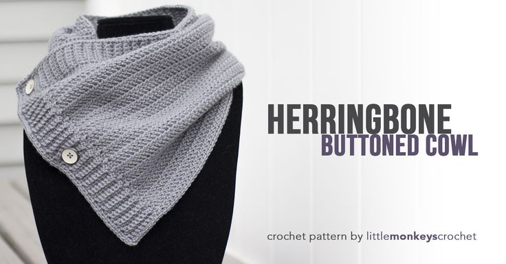 This sleek crochet cowl will look and feel so cozy during brisk autumn nights. It even fits under your winter coat without creating extra bulk!