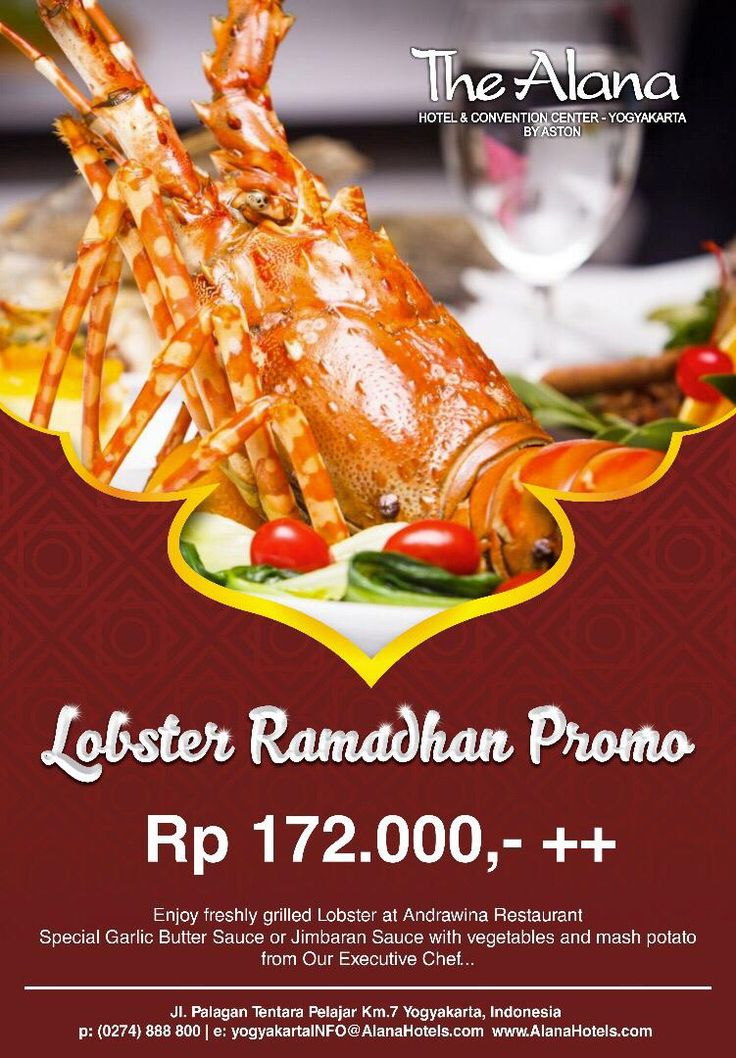 Hotel Alana Jogja Lobster Promo - Hotelier Indonesia | Top Hotels Food and Restaurants